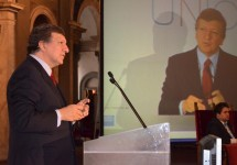 Barroso talks at the State of the Union