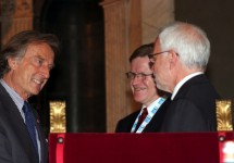 Luca Cordero di Montezemolo, Harold James and Barry Eichengreen