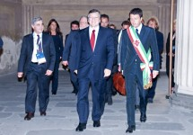Renzi welcomes Barroso