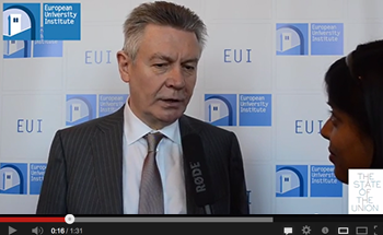 Karel De Gucht at THE STATE OF THE UNION 2014