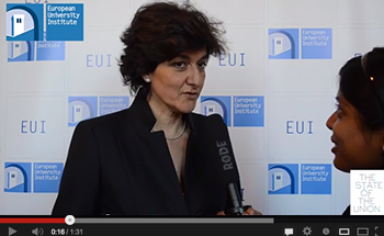 Sylvie Goulard at THE STATE OF THE UNION 2014