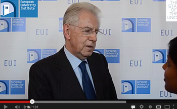 Mario Monti at THE STATE OF THE UNION 2014