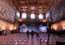 Salone dei Cinquecento - The State of the Union 2015