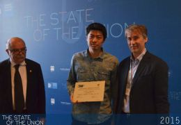 "Awarding ceremony for the artistic competition ""Surveillance and Democracy in Europe"""