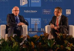 Discussion between Frans Timmermans and J.H.H. Weiler