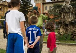 Activities for the children at Villa Salviati