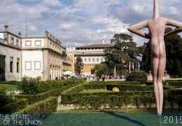 Art exhibition at Villa Salviati