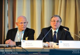 Richart Portes and Ignazio Visco - Keynote speech
