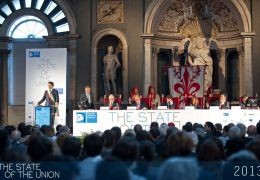 Matteo Renzi introduces Institutions and Democratic Governance
