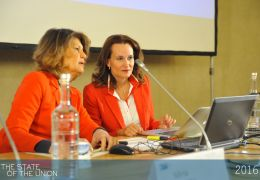 Silvia Costa and Ruth Rubio Marin -  The State of the Union 2016: Women in Europe and the World
