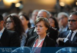 Audience - Dieneke de Vos - PhD researcher in the Law Department of the EUI