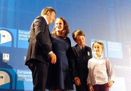 Matteo Renzi and Ruth Rubio Marin with her children - From Rome to Lisbon and beyond: reassessing the fundamentals