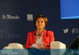 Sylvie Kauffmann - Director of Le Monde