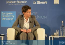 Najat Vallaud-Belkacem - French Minister of National Education, Higher Education and Research