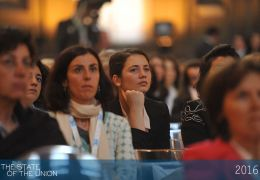 Audience - The State of the Union 2016: Women in Europe and the World