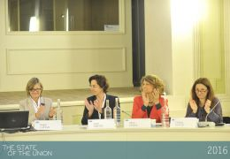 Brigid Laffan, Gioia Ghezzi, Silvia Costa and Cristina Giachi - Women in leadership