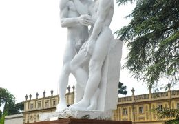 """Davide e Gionata"" Sculpture by Filippo Dobrilla - Villa Salviati - Open Day"
