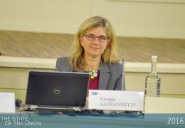 Giorgia Giovannetti - Vice President for International Relations and Professor of Economics at the University of Florence and Part time professor at EUI RSCAS