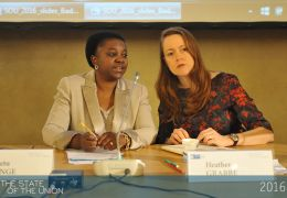 Kashetu Kyenge and Heather Grabbe - Can the refugee crisis make or break Europe?