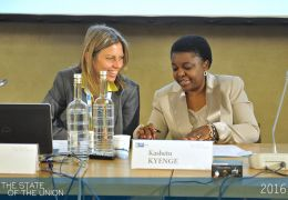 Anna Triandafyllidou and Kashetu Kyenge - Can the refugee crisis make or break Europe?