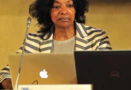 Patricia Sellers during the Parallel session VIII – Refettorio