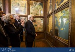 President Prokopios Pavlopoulos visiting the museum of Palazzo Vecchio - SOU2018