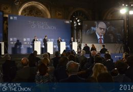 The Televised Presidential Debate livestreamed in the Salone dei 500