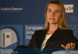 Federica Mogherini speaks on 2014: First European Elections?