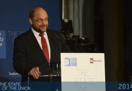 Martin Schulz during the televised debate