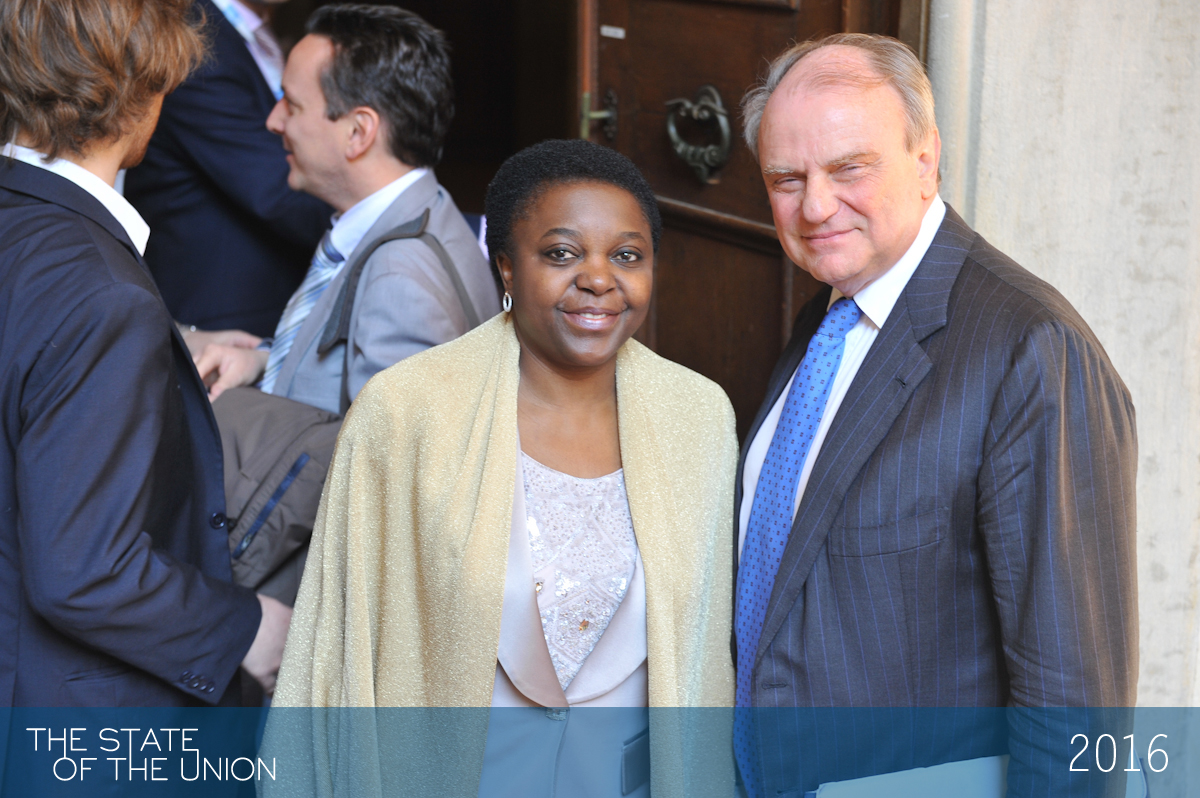 Kashetu Kyenge and Vincenzo Schioppa Narrante - Can the refugee crisis make or break Europe?