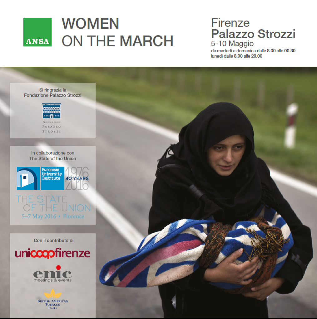 Women on the march poster